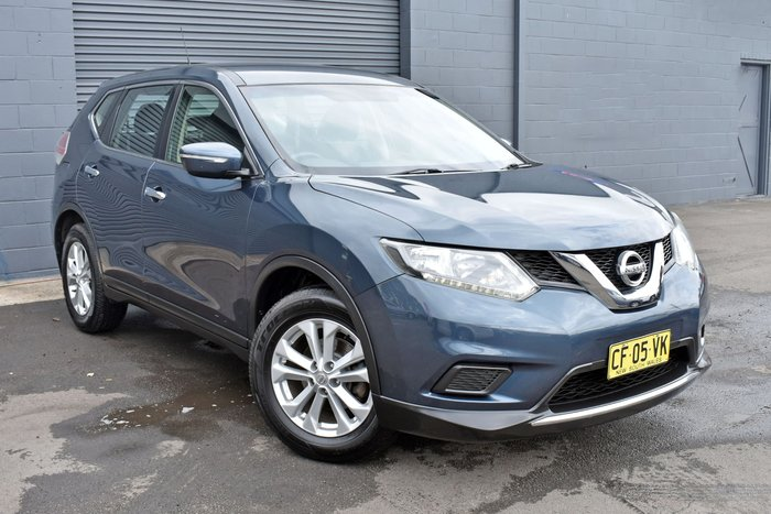 2014 Nissan X-TRAIL ST T32 Blue