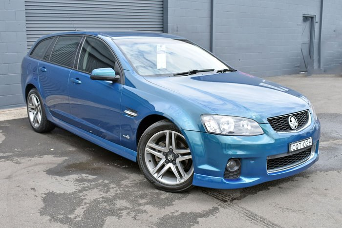 2012 Holden Commodore SV6 VE Series II MY12 Blue
