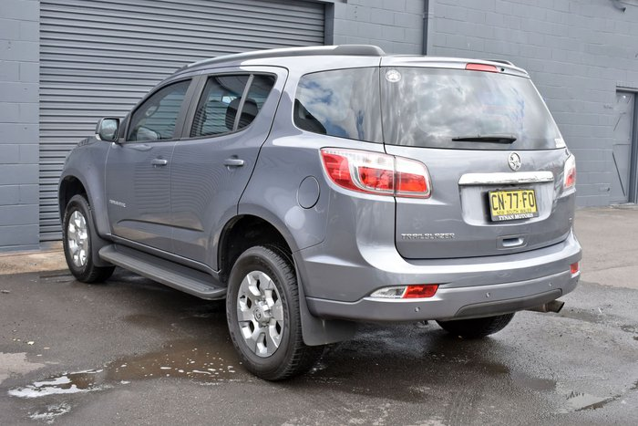 2017 Holden Trailblazer LT RG MY18 4X4 Dual Range Grey