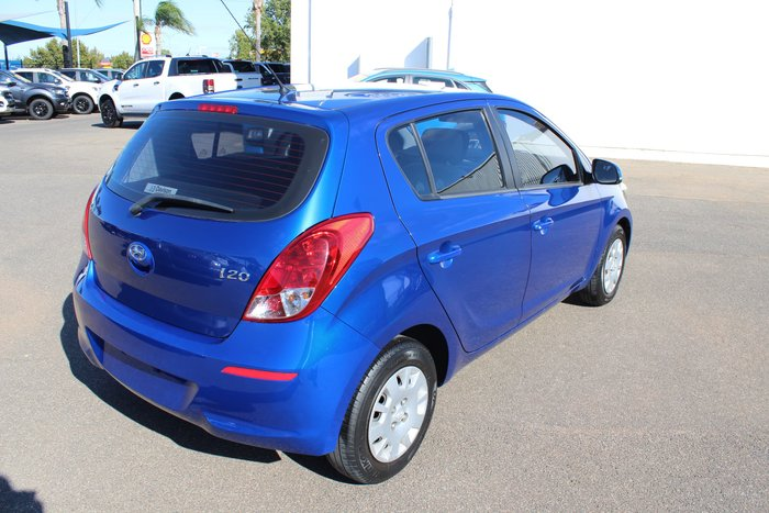 2012 Hyundai i20 Active PB MY12 Sparkle Blue