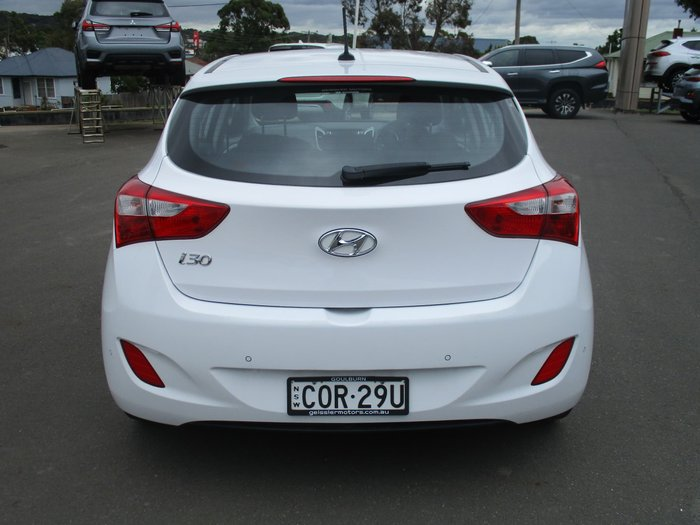 2013 Hyundai i30 Elite GD White