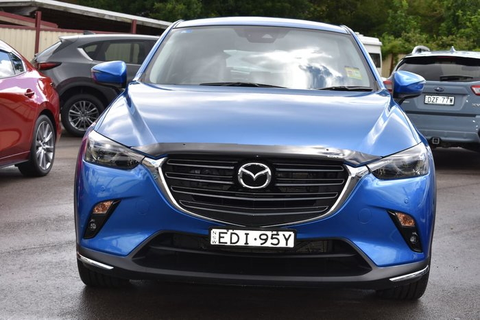 2019 Mazda CX-3 sTouring DK Blue