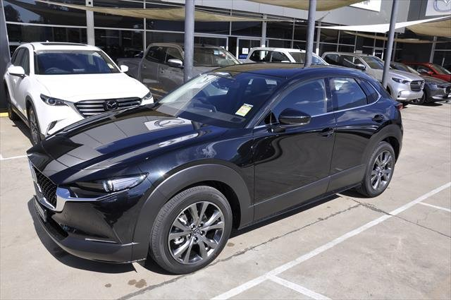2020 Mazda CX-30 X20 Astina DM Series 4X4 On Demand Jet Black