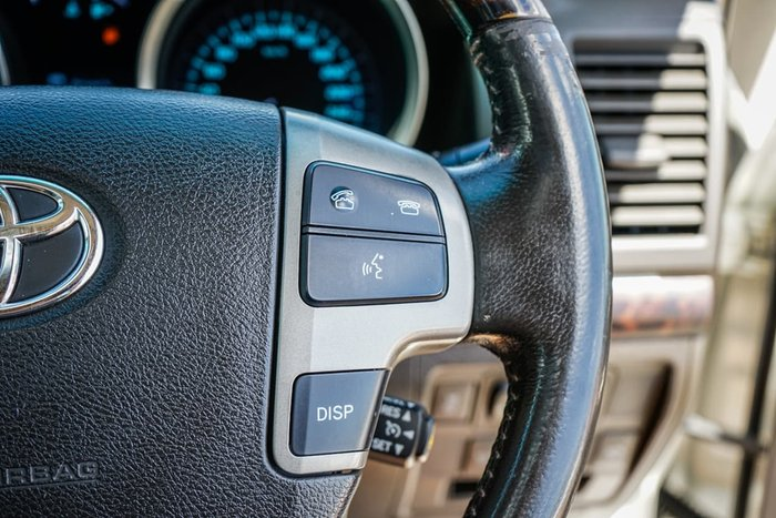 2008 Toyota Landcruiser Sahara VDJ200R 4X4 Constant White