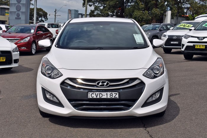 2014 Hyundai i30 Trophy GD2 MY14 White