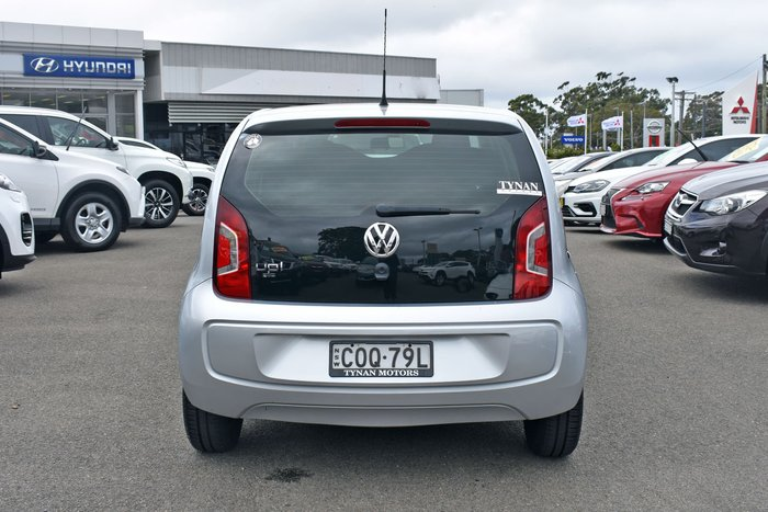 2012 Volkswagen up! MY13 Silver