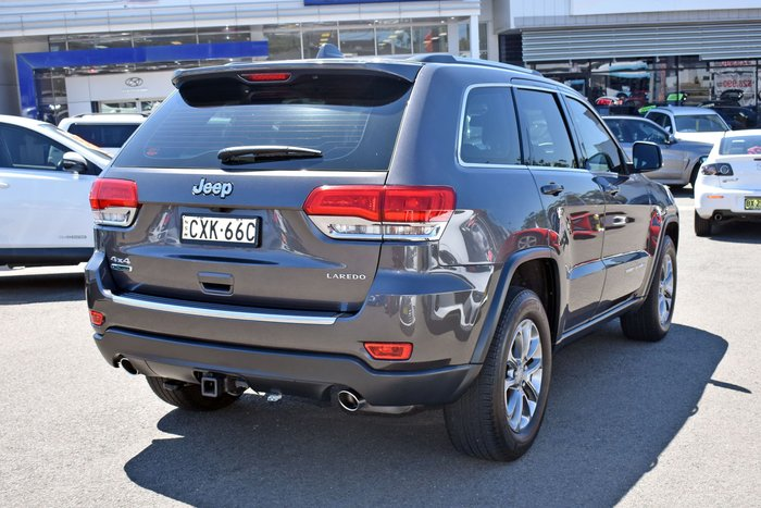 2014 Jeep Grand Cherokee Laredo WK MY14 4X4 Dual Range Grey
