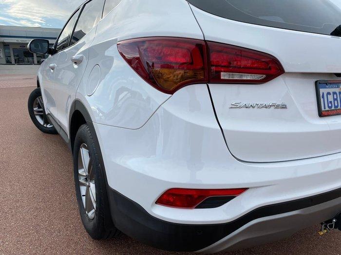 2016 Hyundai Santa Fe Active DM3 Series II MY16 4X4 On Demand White
