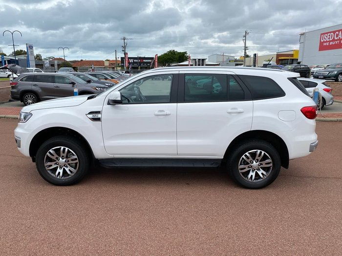 2020 Ford Everest Trend UA II MY20.75 4X4 Dual Range White