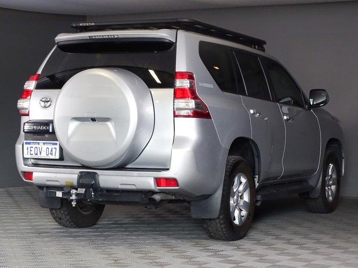 2014 Toyota Landcruiser Prado GXL KDJ150R MY14 4X4 Dual Range Silver