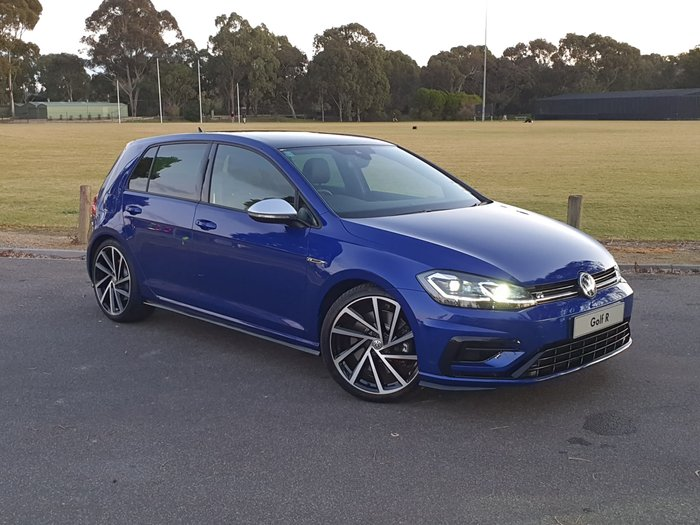 2019 Volkswagen Golf R 7.5 MY20 Four Wheel Drive Blue