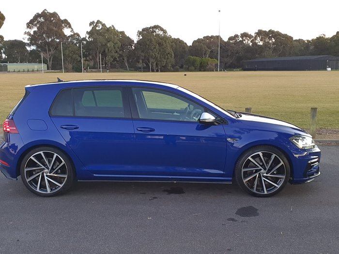 2019 Volkswagen Golf R 7.5 MY20 Four Wheel Drive Lapiz Blue