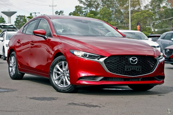 2020 Mazda 3 G20 Pure BP Series Red