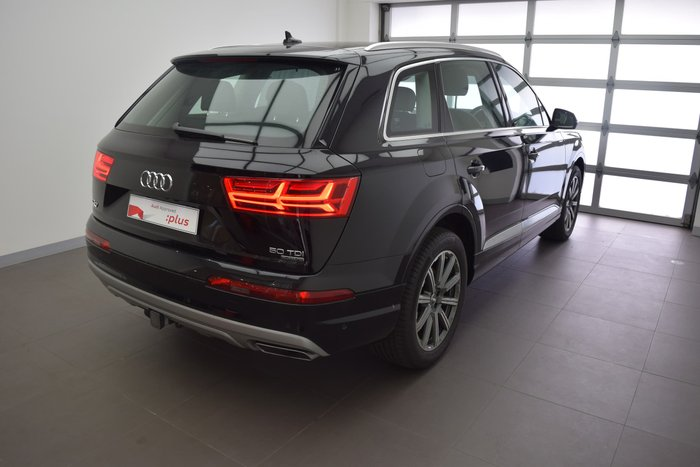 2018 Audi Q7 50 TDI 4M MY19 Four Wheel Drive Night Black