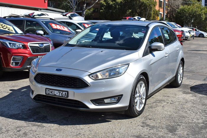 2016 Ford Focus Trend LZ Silver