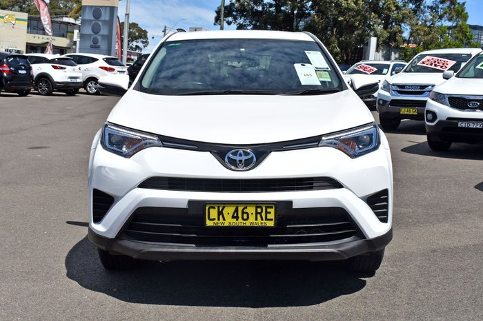 2017 Toyota RAV4 GX ALA49R 4X4 On Demand White