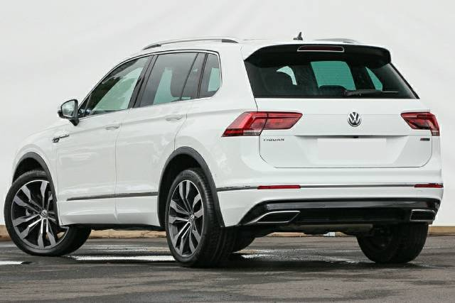 2020 Volkswagen Tiguan 162TSI Highline 5N MY20 Four Wheel Drive PURE WHITE