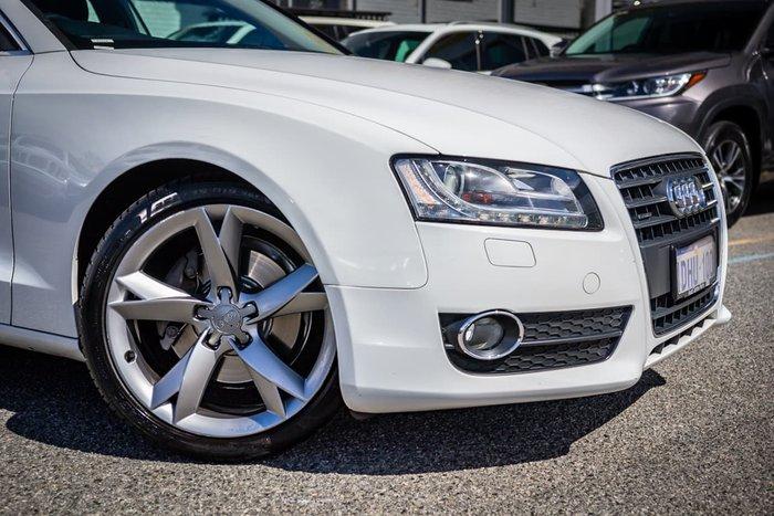 2010 Audi A5 8T MY11 Four Wheel Drive White