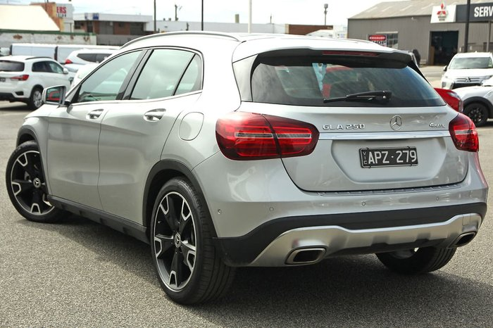 2017 Mercedes-Benz GLA-Class GLA250 X156 Four Wheel Drive Silver