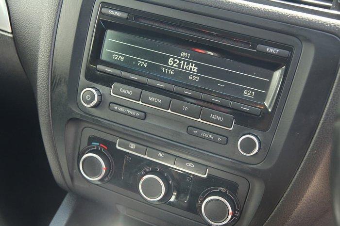 2012 Volkswagen Jetta 118TSI 1B MY13 White
