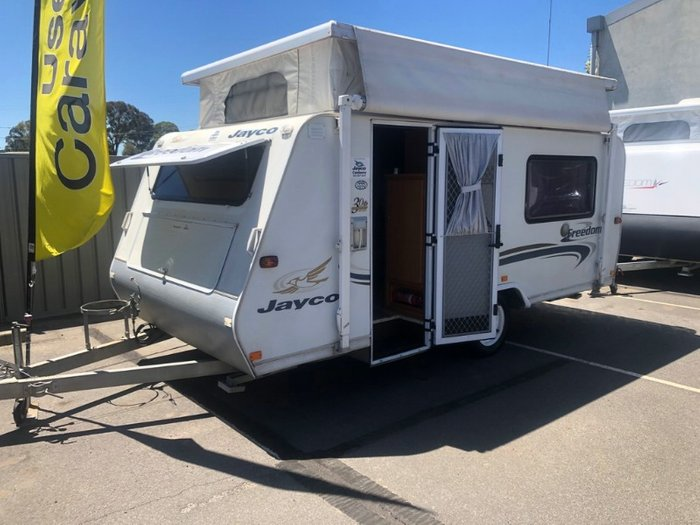 2005 JAYCO 14.45-1.5FR Freedom POP TOP WHITE
