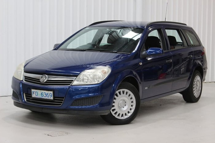 2007 Holden Astra CD AH MY07 Blue