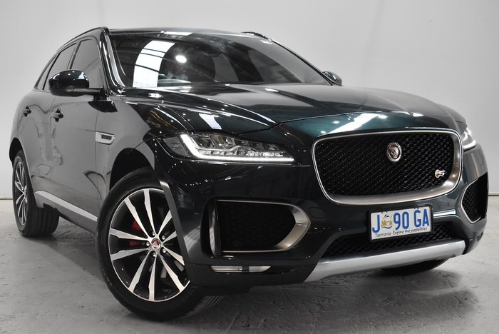 2016 Jaguar F-PACE 35t S X761 MY17 Four Wheel Drive Green