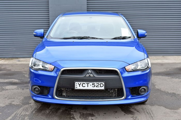 2014 Mitsubishi Lancer ES Sport CJ MY14.5 Blue