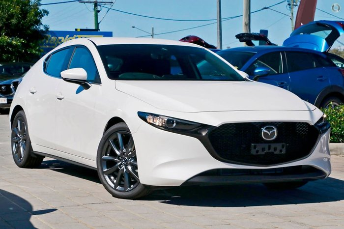 2020 Mazda 3 G20 Evolve BP Series Snowflake White Pearl