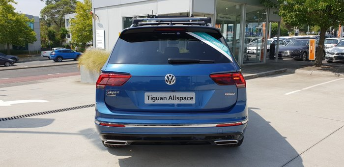 2020 Volkswagen Tiguan 162TSI Highline Allspace 5N MY20 Four Wheel Drive Blue