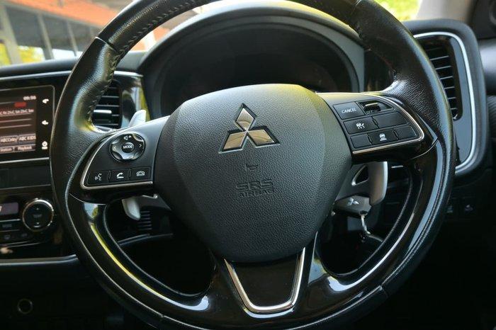 2017 Mitsubishi Outlander LS Safety Pack ZK MY18 4X4 On Demand Black