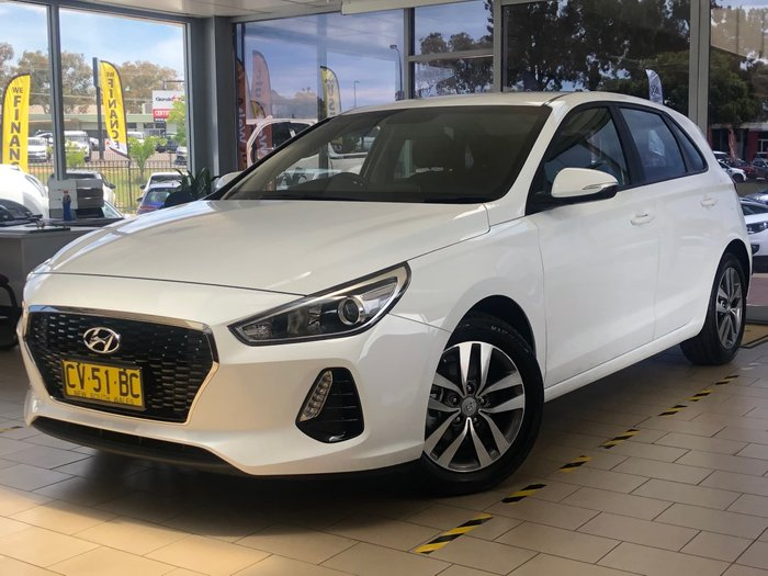 2019 Hyundai i30 Active PD2 MY20 White