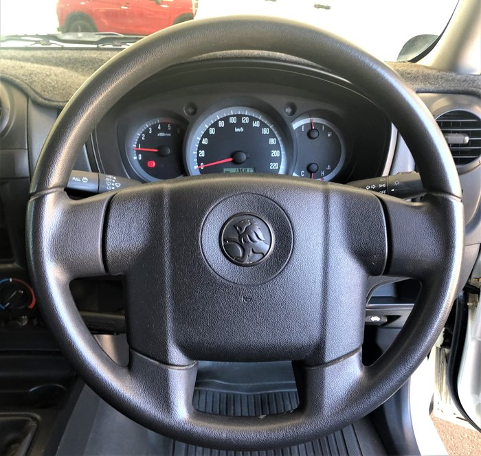2007 Holden Rodeo LX RA MY08 4X4 White