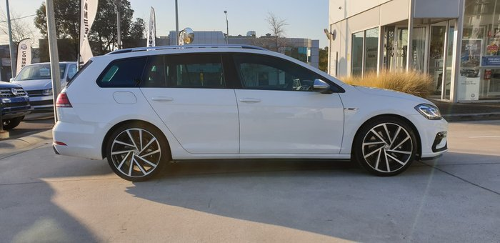 2020 Volkswagen Golf R 7.5 MY20 Four Wheel Drive Pure White