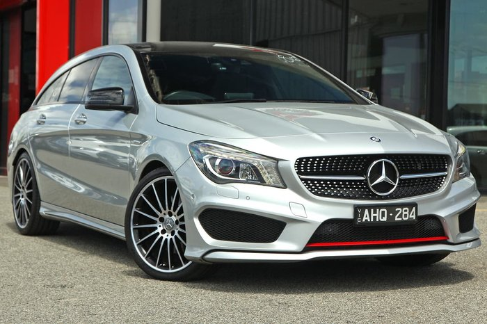 2015 Mercedes-Benz CLA-Class CLA250 Sport X117 Four Wheel Drive Silver