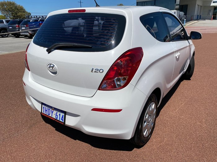 2013 Hyundai i20 Active PB MY13 White