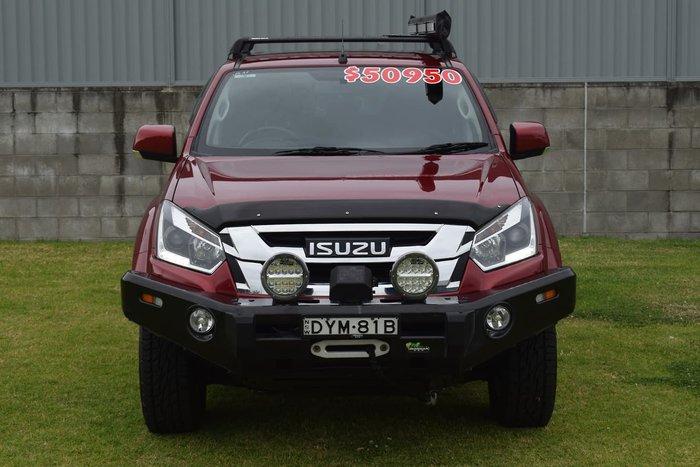 2018 Isuzu D-MAX LS-M MY18 4X4 Dual Range Red