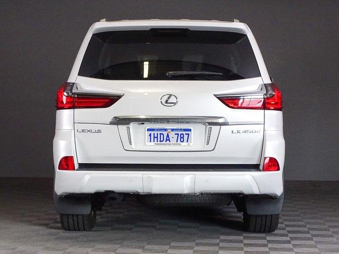 2019 Lexus LX LX450d VDJ201R 4X4 Dual Range White