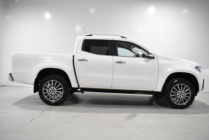 2020 Mercedes-Benz X-Class X250d Power 470 4X4 Dual Range White
