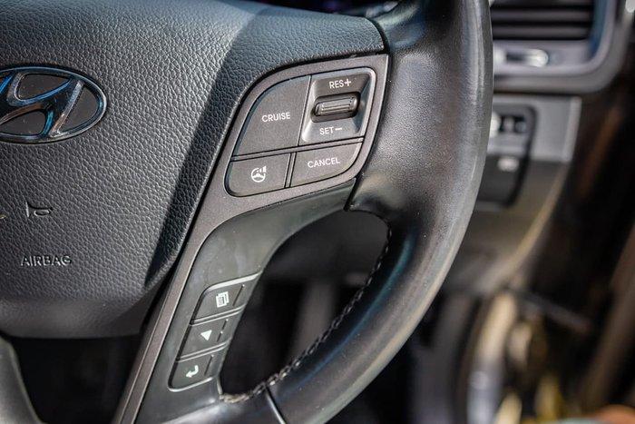 2014 Hyundai Santa Fe Elite DM MY14 4X4 On Demand Silver