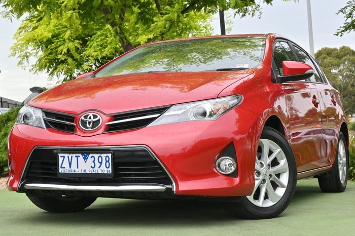 2013 Toyota Corolla Ascent Sport ZRE182R Red