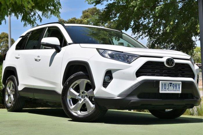 2019 Toyota RAV4 GXL MXAA52R White