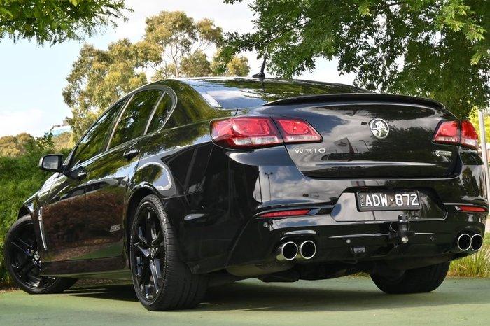 2015 Holden Commodore SS V Redline VF MY15 Black