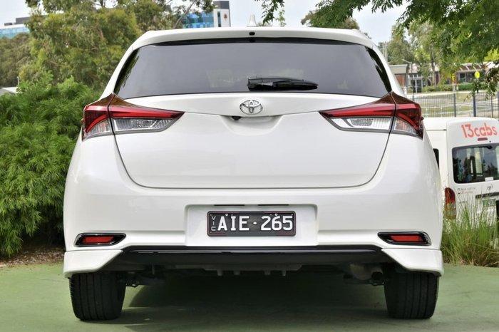 2016 Toyota Corolla SX ZRE182R White