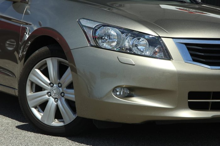 2009 Honda Accord V6 Luxury 8th Gen Beige