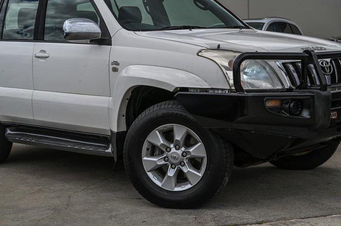 2008 Toyota Landcruiser Prado GX KDJ120R 4X4 Constant White