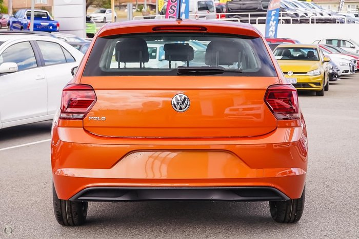 2020 Volkswagen Polo 70TSI Trendline AW MY20 Orange