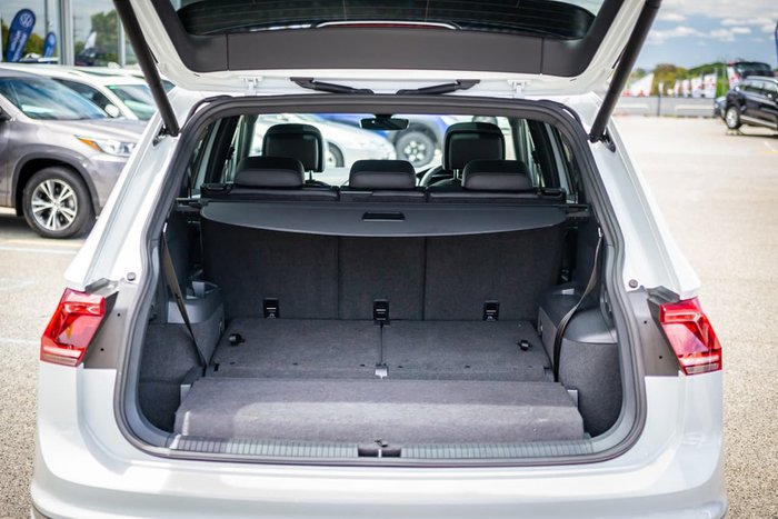 2019 Volkswagen Tiguan 162TSI Highline Allspace 5N MY19.5 Four Wheel Drive White