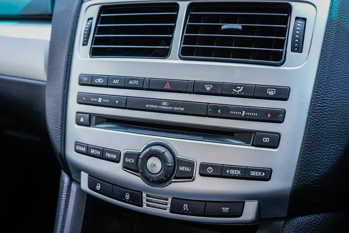 2012 Ford Falcon XR6 FG MkII Orange