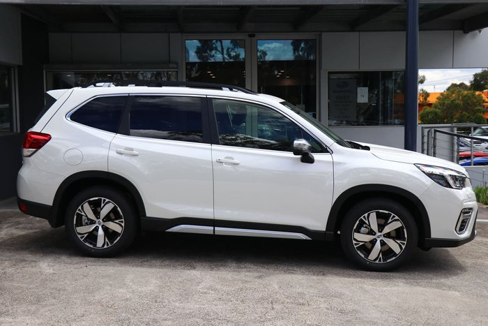2020 Subaru Forester 2.5i-S S5 MY21 Four Wheel Drive Crystal White